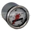 Tachometer 80 km/h Ø 48 chrom